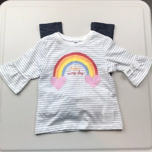 Nwt Old Navy rainbow set